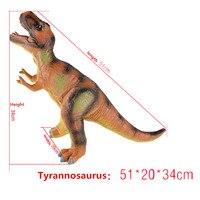 ענק דינוזאור טורף דגם צעצוע 6 סגנונות קלאסי צעצועי הסימולציה בעלי החיים דגם לchildrend בובת חינוך ילדי ילד מתנה