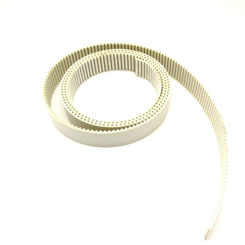 5meter Embroidery spare parts White belt S5M for Tajima BARUDAN embroidery machine