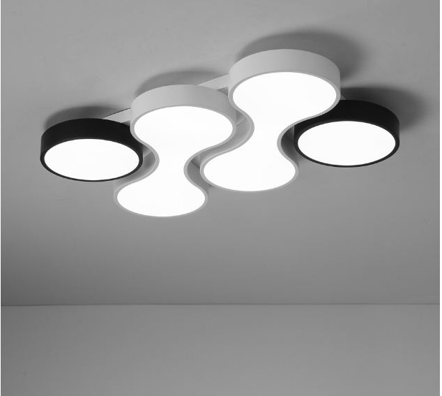 Modern LED ceiling lamp creative simple Nordic lamp bedroom living room dining room kitchen lamp balcony roof lamp