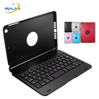New Aluminium Ultra Slim Portable Wireless Bluetooth 3 0 Keyboard Case Cover Holder For IPad Mini