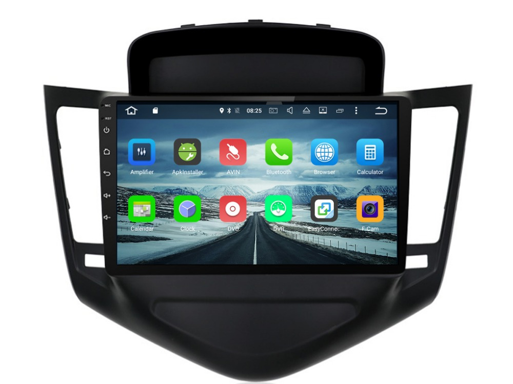 Android  Car dvd Stereo Headunit For Chevrolet Cruze  Mulitimedia Auto Radio Stereo GPS Navi with Audio Video