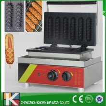 Commercial Smooth Milk Hot Dog Stick/ Waffle Baker Maker Machine for hot dog