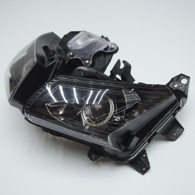 TMAX 530 2012 2013 2014 Front Headlight Head Light  Headlamp For Yamaha T-MAX530 TMAX530 2012 2013 2014 Clear (3)
