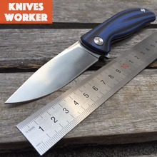 LDT Small F3 Folding Knife 30EVO Blade G10 Handle Ball Bearing Tactical Pocket Knives Outdoor Survival Hunting Camping Tools OEM