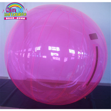 Guangzhou factory supplies good quality PVC material Diameter 1.8 meter for adults and kids inflatable pool water ball