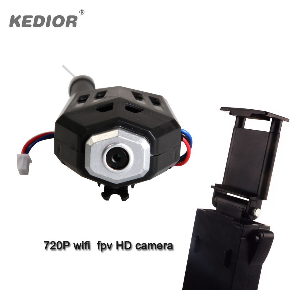 KEDRIOR 720P 1 0mp FPV WIFI HD CAMERA for X8SW RC drone remote control helicopter quadcopter