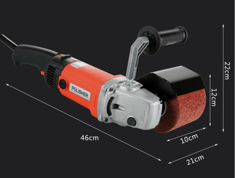230V Wire Portable For Steel Polishing Machine Drawing Machine Electric Grinding Polishing Wooden With 1400w Stainless Metal