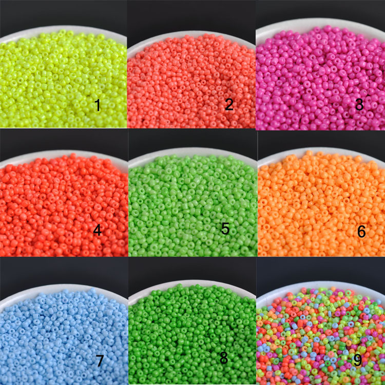 Czech Seed Neon Beads For Jewelry Handmade Diy Bl005-4x Elegant Shape 9 Colors 4mm 300pcs Crystal Glass Spacer Beads Beads & Jewelry Making