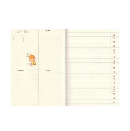2016-2017 Molang Rabbit Diary