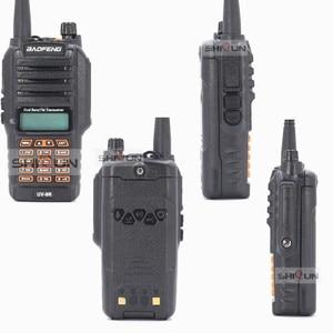Image 4 - UV 9R with Headset Microphone IP67 Waterproof Dual Band Radio 10KM Baofeng 8W Walkie Talkie 10 KM UV 82 UV 5R UV XR UV 9R Plus