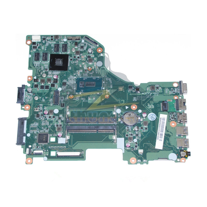 DA0ZRTMB6D0 REV D N9VB5WW001 N9.VB5WW.001 for acer aspire E5-573 laptop motherboard i3-5005U 920M DDR3L