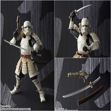 Star Wars MOVIE REALIZATION – Stormtrooper Darth Vader Boba Fett Sic Samurai Taisho Action Figure Model Kids Toy Doll Christmas