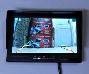 Image 5 - 新 7 インチips 2 分割画面 1024*600 ahd車モニターレコーダーdvrセキュリティ監視