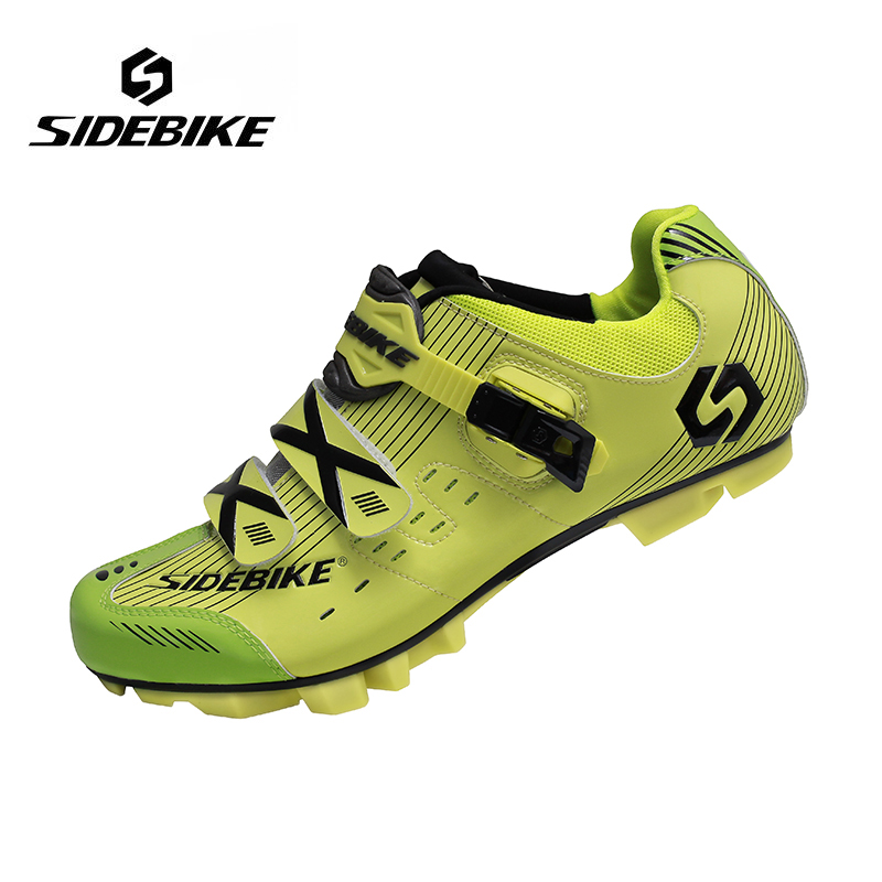 Sidebike Professional Men Mountain Bike Racing Athletic Shoes Breathable Bicycle MTB Sports Self-Locking Cycling Shoes цена 2017