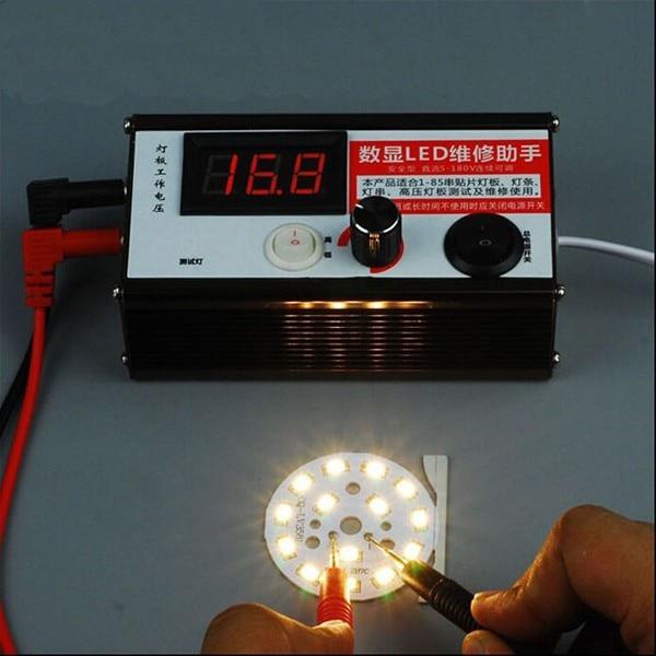 все цены на 0-200V Voltage TV Laptop LED LCD Backlight Tester Lamp Beads Light Board Transistor Geiger Tester онлайн