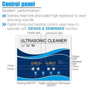 Image 3 - Granbo 4L 4.5L 180W Dijital Ultrasonik Temizleyici DEGAS SEMIWAVE Isıtma Temizleme Tıbbi ve Diş Kliniği Donanım