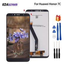 Original For Huawei Honor 7C LCD Display Touch Screen Phone Parts For Huawei Honor 7C Aum-L41 Screen LCD Display With Frame цены