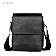 Crossbody Bags For Men Fashion PU Leather Shoulder Bag Casua