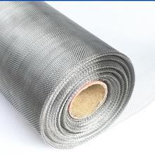 Более плотный стиль 304 проволочная сетка из нержавеющей стали, плотная сетка против комаров, оконная сетка, огнезащитная металлическая проволочная сетка