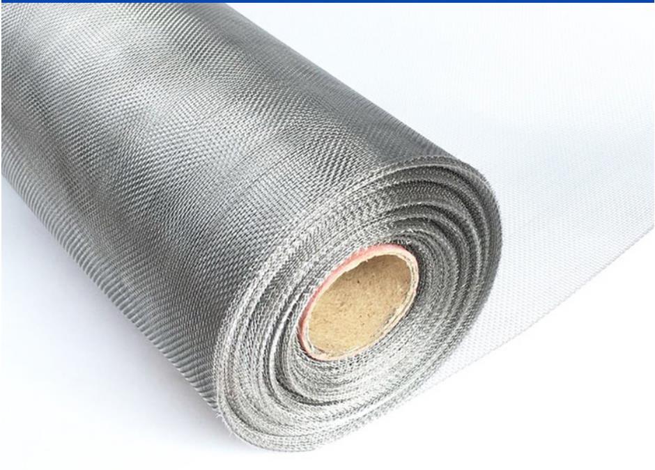 Estilo mais densa rede de arame de aço inoxidável 304 telas, densa grade anti-mosquito, janela net, malha de arame de metal de protecção contra o fogo.