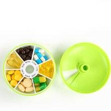 7 Day Weekly Pill Travel Medicine Box Dispenser Capsule Holder Organiser Case Pill Organizer