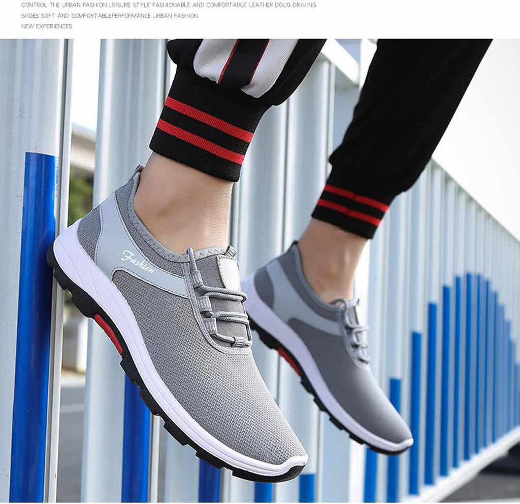 Erkek Sneakers 2018 Yeni Gelenler Sneakers Mesh Nefes spor ayakkabı Açık Erkek yürüyüş ayakkabısı erkek ayakkabısı spor yaz # G4