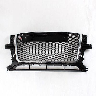 RSQ5 Stile Cornice Cromata A Nido D'ape Mesh Grille Grill Per Audi Q5 SQ5 RSQ5 2009-2013