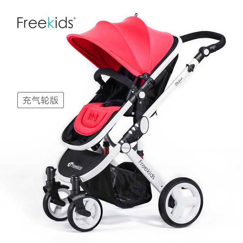 Baby stroller Freekids baby car light trolley suspension folding stroller