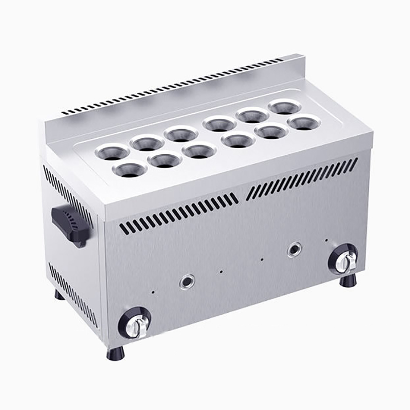 Egg Sausage Machine Commercial Gas Section Snack Equipment Egg Roll Machine 12 Holes Entrepreneurial Egg Sausage JX-DCH12Egg Sausage Machine Commercial Gas Section Snack Equipment Egg Roll Machine 12 Holes Entrepreneurial Egg Sausage JX-DCH12