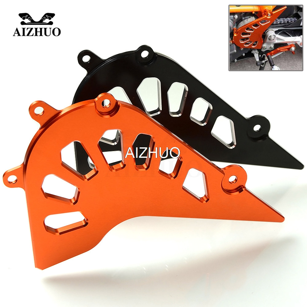 Motorcycle CNC Aluminum Front Sprocket Chain Cover Guard Protect Accessories FOR KTM Duke 390 2013 2015 RC390 RC 390 2014 2015
