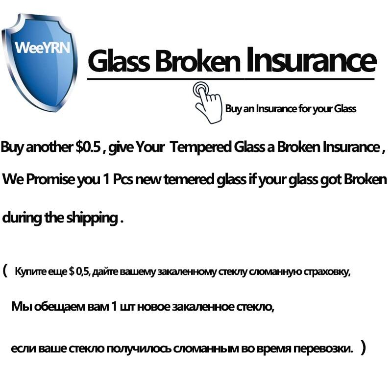Tempered Glass Broken Insurance