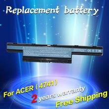 JIGU НОВЫЙ 5200 мАч Аккумулятор для Ноутбука Acer Aspire V3-471G V3-571G V3-551G V3-771G E1 E1-421 E1-431 E1-471 E1-531 E1-571 Серии