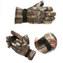 Waterproof Winter Hunting Gloves Camuflage Full Finger Breathable Insulated Tactical Glove For Skating Motorcycles