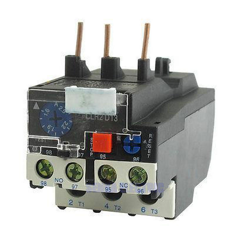 LR2-D13 JR28-25 2.5A 1.6-2.5A 3 Phase 1NO 1NC Motor Electric Thermal Overload Relay lucide настенный уличный светильник lucide xia 17293 02 30