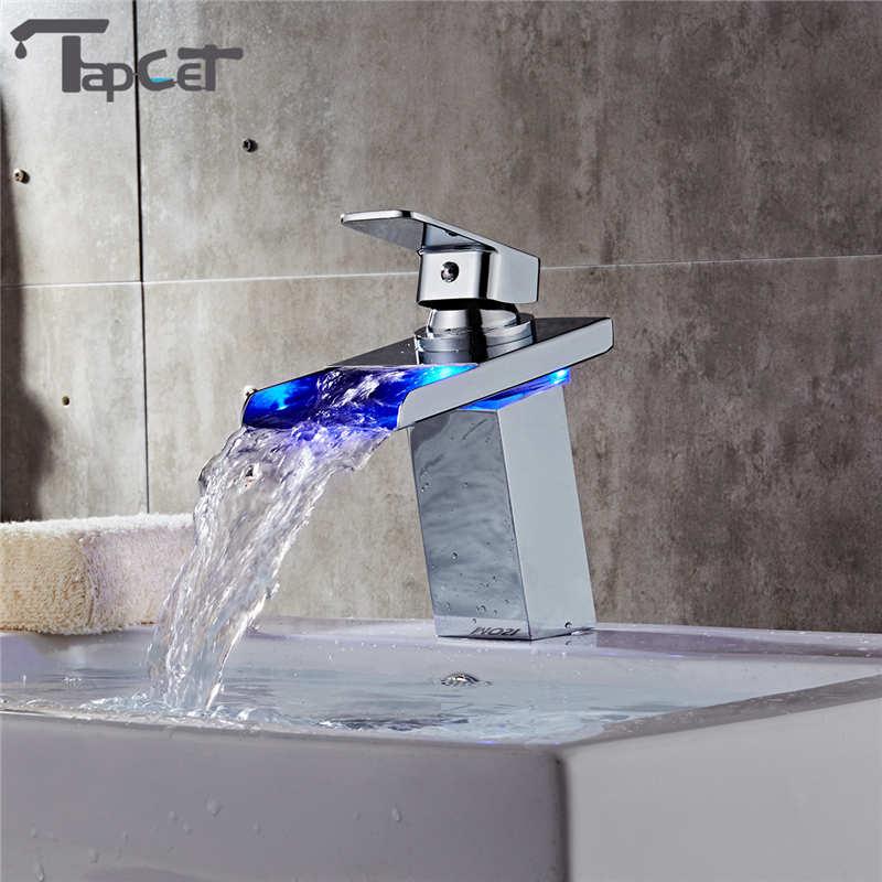 Online Get Cheap Led Wasserhahn Wasserfall -Aliexpress.com ... | {Badarmaturen wasserfall 79}