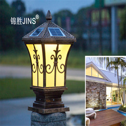 Słoneczna lampa słupowa LED lampa dziedzińca lampa słoneczna instalacja prosta lampa z czujnikiem для дачи солнечная панель гирлянда уличная
