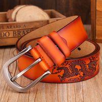 Hot Sale Fashion Leather Genuine Belt Men Luxury Sashes High Quality Belts Men S Waist Strap