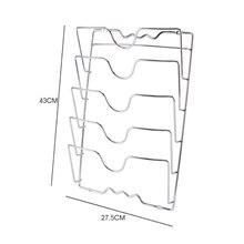 Pan Lid Storage Rack Wall Mount Pot Cover Organizer