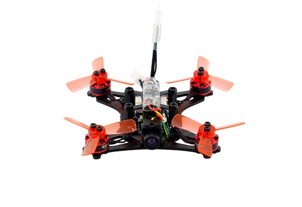 Kingkong 90GT 90mm Brushless Mini FPV Racing Drone with Micro F3 Flight Controll 16CH 800TVL VTX rc aircraft arf kingkong 90gt 90 brushless micro fpv racing quadcopter drone f3 flight controll 800tvl vtx 3a esc tiny whoop