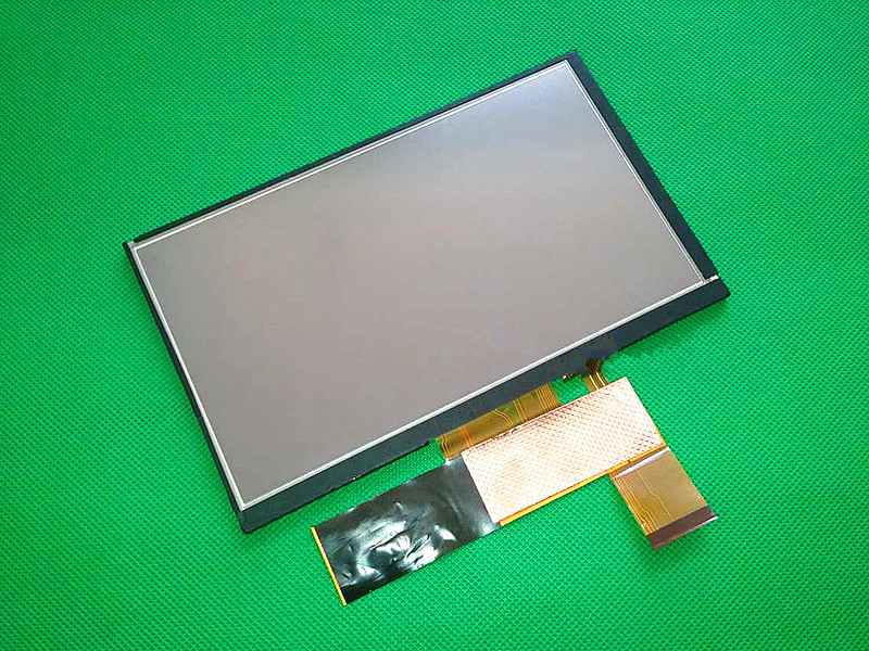 Original 7 inch LCD screen For ZJ070NA-03C GPS Navigation screen display panel with touch screen digitizer panel