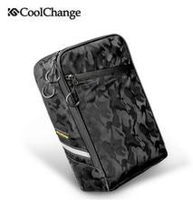 цена на CoolChange Portable Bicycle Rear Rack Bag Waterproof Bike Bag Seat Trunk Backpack Case Pannier MTB Road Cycling Bag Accessories