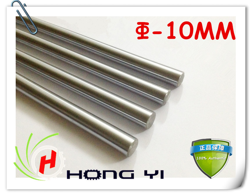 4pcs 10mm - L400mm chrome plated Cylinder Linear Rail Round Rod Shaft Linear Motion Shaft for CNC XYZ chrome plated wired control plate for jazz bass total approx 152 54 mm l 344