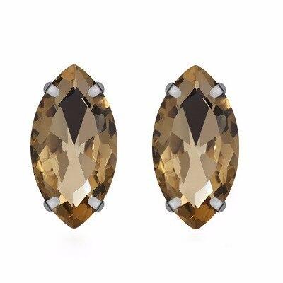 Prajna Horse Eye Shape Sew On Rhinestone High Quality Glass rhinestones For Craft Crystal Strass For Wedding Dress DIY Accessory