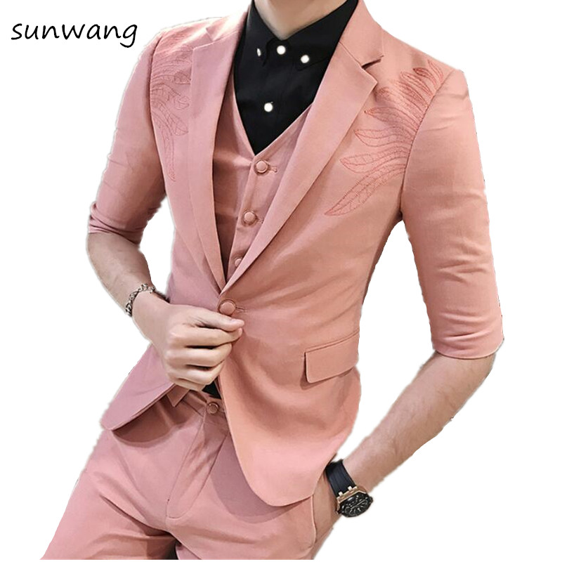 Online Shop for Popular pink tuxedo from Trajes