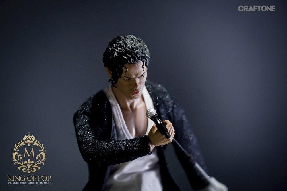 1/6 scale figure Pop superstar Michael Jackson Billie Jean 12 Action figure doll Collectible Model plastic toy michael hutnak heat and fluid flow at a crustal scale