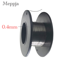 KanthalA1 wire 26 Gauge 30 FT 0.4mm Heating wire Resistance Resistor AWG e xy flat coil wire 120mm heating wire electronic cigarette 10pcs in a tube for vapor vape rda rta premade resistance wire