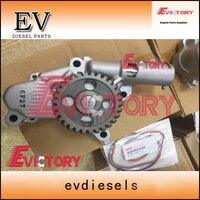 For Isuzu 6WA1 6WA1T 6WG1 6WG1T oil pump