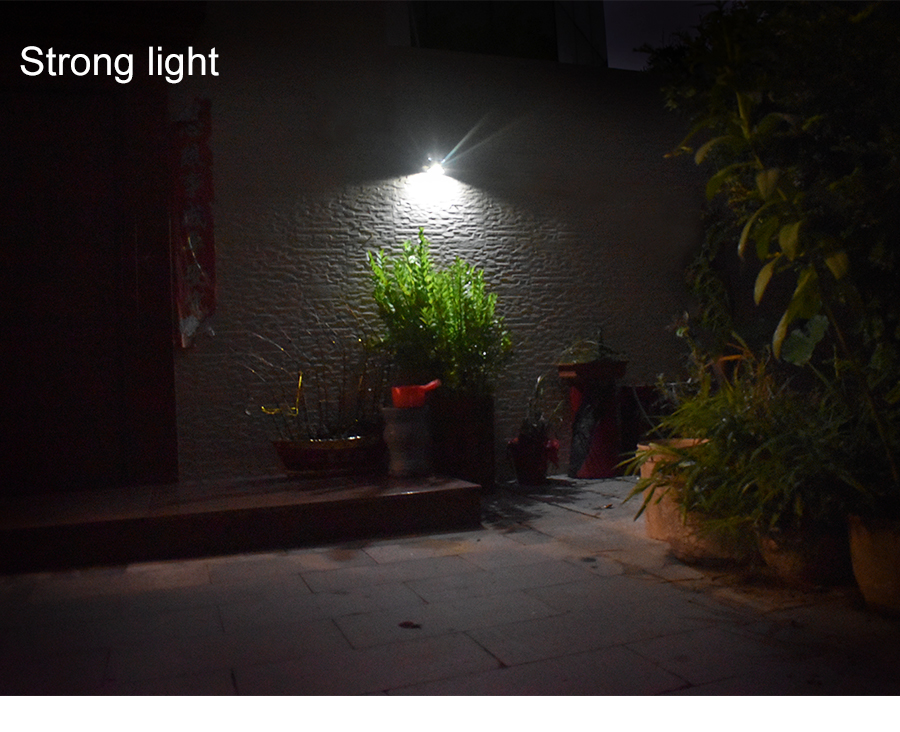 Waterproof Solar Outdoor Light with 4 LED and Motion Sensor Powered by Sunlight for Garden and Garage 16
