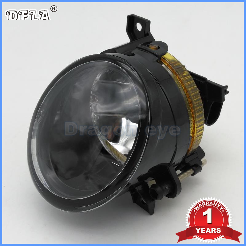 DFLA Car Light For VW Jetta 5 Mk5 2006 2007 2008 2009 2010 2011 Front Halogen Fog Lamp Fog Light With Bulb Left Side HB4 9006 2pcs for vw passat b6 2006 2007 2008 2009 2010 2011 front high quality led fog lamp fog light