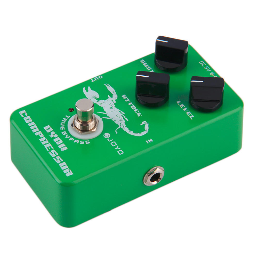 ФОТО JF-10 Dynamic Compressor Guitar AMP Effect Pedal True Bypass Instrument fast shipping